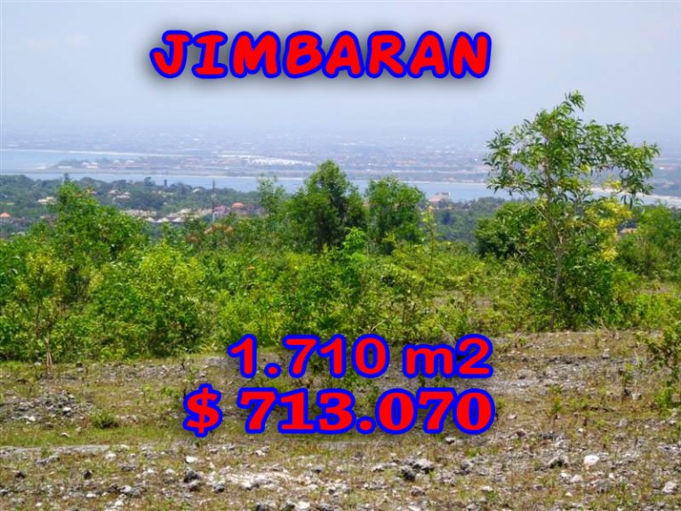 Land for sale in Bali, wonderful view in Jimbaran Bali – TJJI027