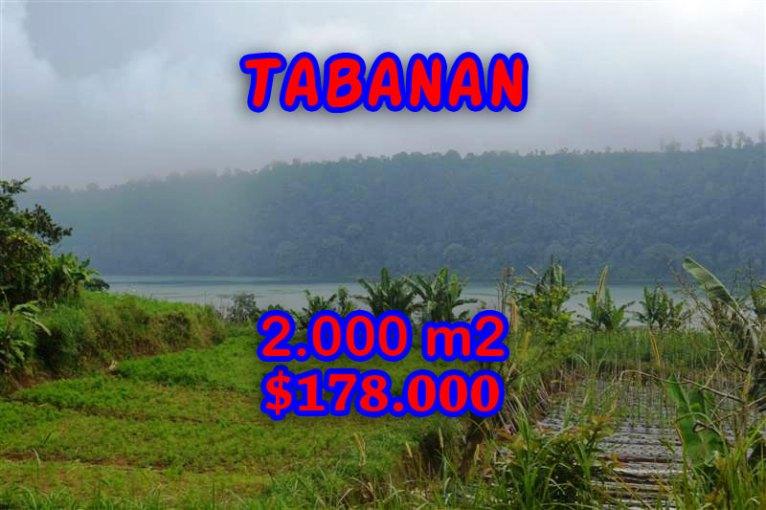 Land for sale in Bali, amazing view in Tabanan Bedugul – TJTB061