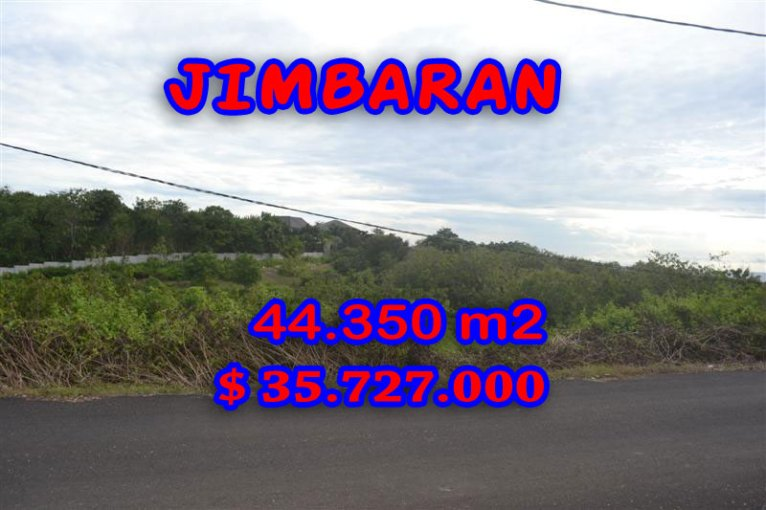 Land in Bali for sale, Spectacular view in Jimbaran Bali – TJJI035
