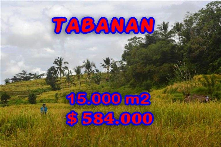 Magnificent Land for sale in Bali, waterfall view in Tabanan Penebel Bali – TJTB065