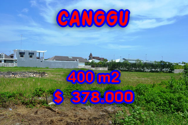 Land for sale in Bali Indonesia, Spectacular Rice fields view in Canggu Brawa – TJCG108