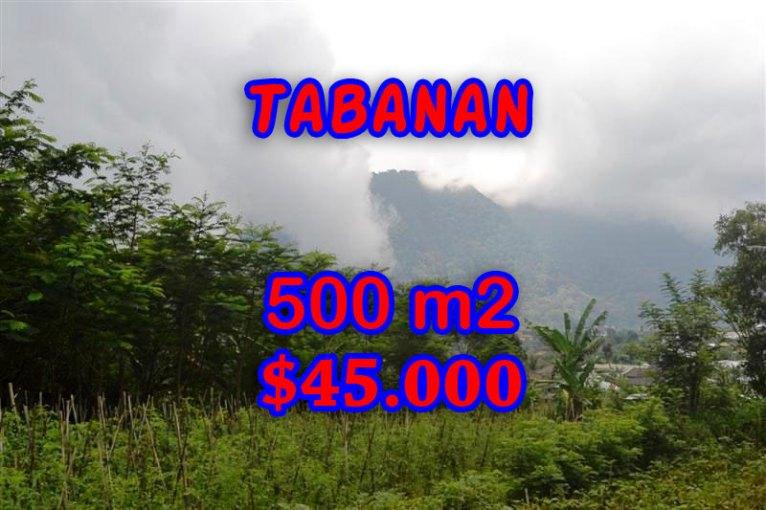 Land for sale in Bali, impressive view in Tabanan Bedugul – TJTB063
