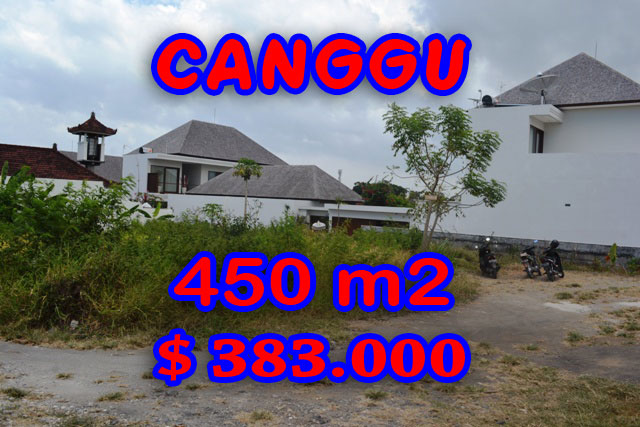 Land for sale in Bali, spectacular view in Canggu Bali – TJCG121