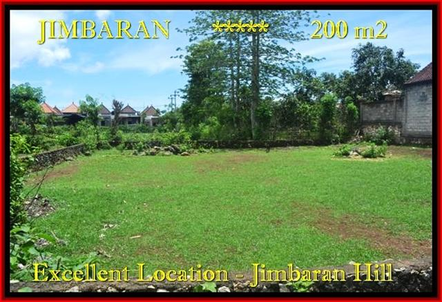 Jimbaran Ungasan 200 m2 LAND FOR SALE TJJI087