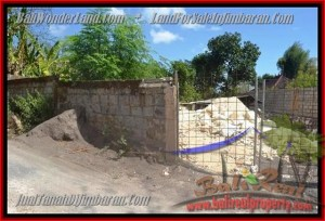 Magnificent PROPERTY 200 m2 LAND IN JIMBARAN FOR SALE TJJI081