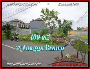 Affordable 400 m2 LAND SALE IN Canggu Brawa BALI TJCG175