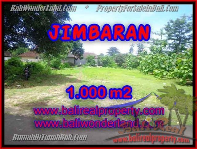 Beautiful PROPERTY JIMBARAN 1,000 m2 LAND FOR SALE TJJI063