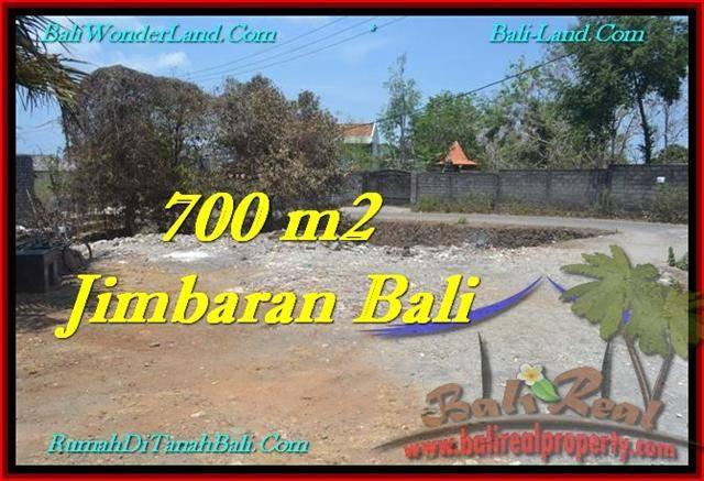 Magnificent JIMBARAN 700 m2 LAND FOR SALE TJJI100