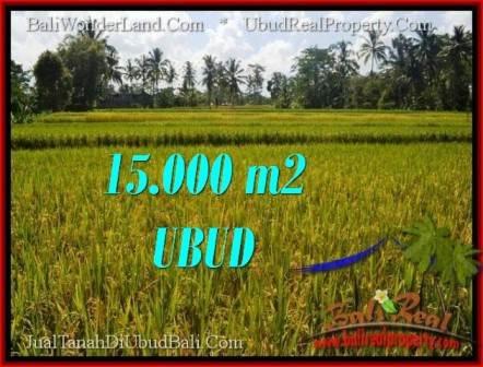 Magnificent PROPERTY Ubud Tegalalang 15,000 m2 LAND FOR SALE TJUB551
