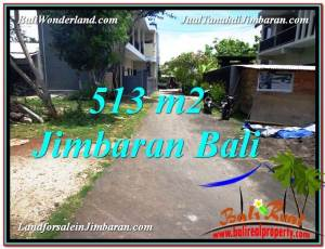 Exotic PROPERTY JIMBARAN 513 m2 LAND FOR SALE TJJI105