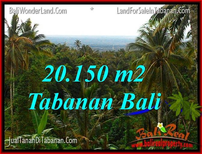 FOR SALE Magnificent PROPERTY 20,150 m2 LAND IN TABANAN BALI TJTB322