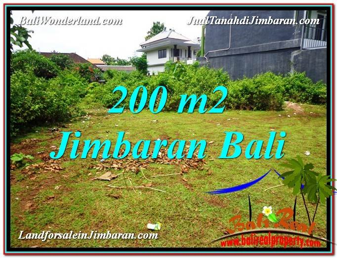 Affordable PROPERTY JIMBARAN BALI 200 m2 LAND FOR SALE TJJI107