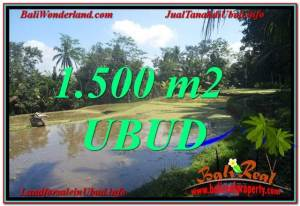 FOR SALE Magnificent PROPERTY 1,500 m2 LAND IN UBUD BALI TJUB630
