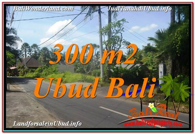 Exotic PROPERTY 300 m2 LAND IN Sentral / Ubud Center BALI FOR SALE TJUB646