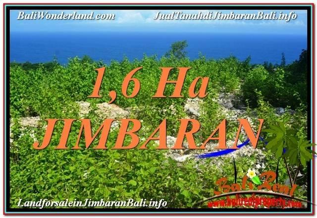 Beautiful 16,000 m2 LAND FOR SALE IN JIMBARAN BALI TJJI112