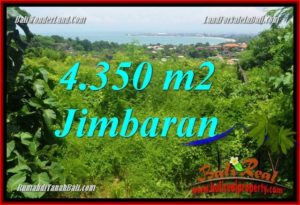 Magnificent PROPERTY 4,350 m2 LAND SALE IN JIMBARAN TJJI120