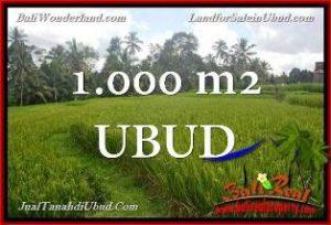 Exotic PROPERTY UBUD LAND FOR SALE TJUB653