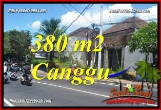 Magnificent CANGGU 380 m2 LAND FOR SALE TJCG226