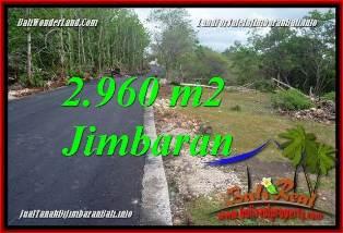 FOR SALE Beautiful 2,960 m2 LAND IN JIMBARAN UNGASAN BALI TJJI133A