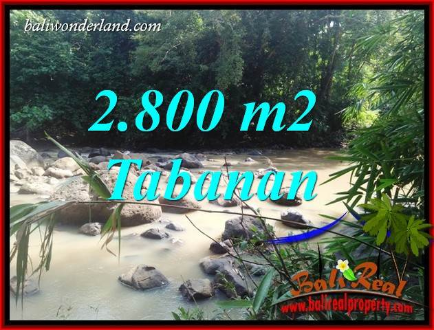 Magnificent Land in Tabanan Bali for sale TJTB411