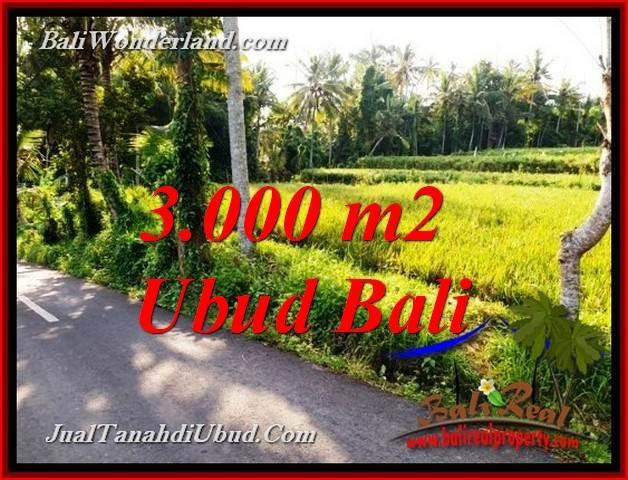 FOR SALE Beautiful PROPERTY 3,000 m2 LAND IN PEJENG UBUD TJUB771