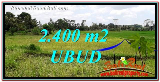 FOR SALE Magnificent PROPERTY 2,400 m2 LAND IN Ubud Tampak Siring TJUB757