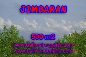 Land in Bali for sale, extraordinary view in Jimbaran Ungasan – TJJI059