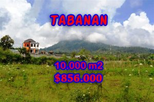 Beautiful Land for sale in Bali, mountain view by the lake in Tabanan Bali – TJTB060