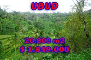 Land in Bali for sale, Fantastic river view in Ubud Tampak Siring – TJUB274