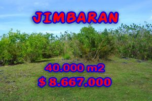 Bali Property for sale, Spectacular land for sale in Jimbaran Bali  – 40.000 m2 @ $ 217