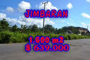 Stunning Property for sale in Bali, land for sale in Jimbaran Bali  – 1.620 sqm @ $ 394