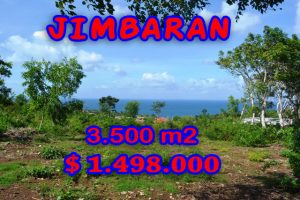 Spectacular Property for sale in Bali, land for sale in Jimbaran Bali  – 3.500 m2 @ $ 428