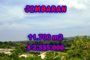 Property in Bali for sale, Extraordinary land for sale in Jimbaran Bali  – 11.700 m2 @ $ 217