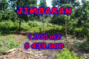 Land for sale in Jimbaran Ungasan, Magnificent Property in Bali  – 1.000 m2 @ $ 439