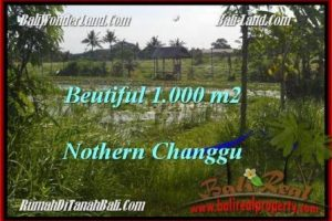 Exotic PROPERTY CANGGU 1,000 m2 LAND FOR SALE TJCG180