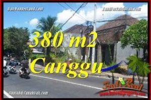 Magnificent CANGGU 380 m2 LAND FOR SALE TJCG226