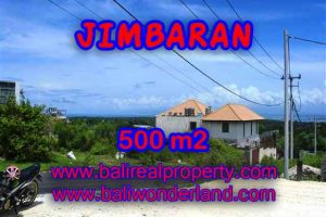 Beautiful PROPERTY 500 m2 LAND FOR SALE IN JIMBARAN BALI TJJI066