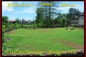 Beautiful PROPERTY 200 m2 LAND FOR SALE IN JIMBARAN BALI TJJI087