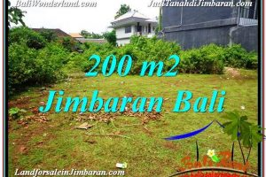 Beautiful PROPERTY 200 m2 LAND IN JIMBARAN BALI FOR SALE TJJI107