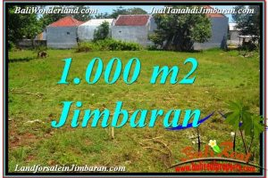 Exotic Jimbaran Ungasan 1,000 m2 LAND FOR SALE TJJI108