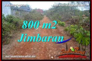 JIMBARAN UNGASAN 800 m2 LAND FOR SALE TJJI129