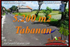 Magnificent PROPERTY Tabanan Kediri 5,200 m2 LAND FOR SALE IN BALI TJTB351