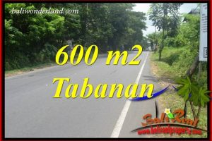 Exotic Property 600 m2 Land in Tabanan Kerambitan Bali for sale TJTB401