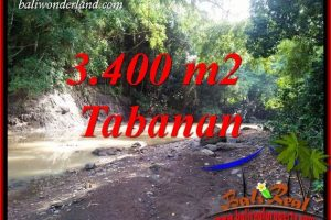 Affordable Tabanan Bali 3,400 m2 Land for sale TJTB412