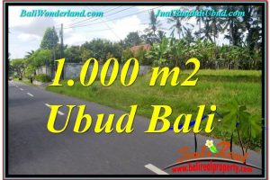 Exotic PROPERTY LAND SALE IN UBUD TJUB649