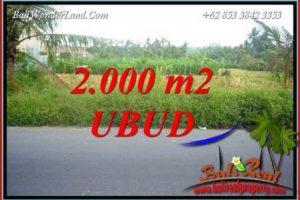 Ubud Kemenuh Bali Land for sale TJUB737