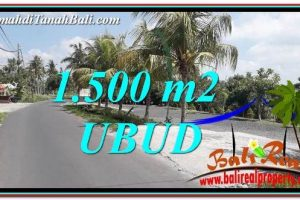 LAND FOR SALE IN UBUD TJUB758