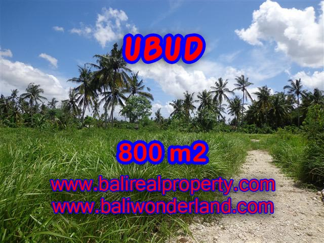 Land for sale in Bali, exceptional view in Central Ubud – TJUB352