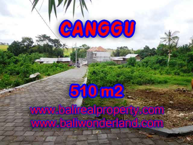Outstanding Property in Bali for sale, land in Canggu for sale – TJCG150