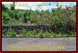 Exotic Jimbaran Ungasan BALI 200 m2 LAND FOR SALE TJJI086